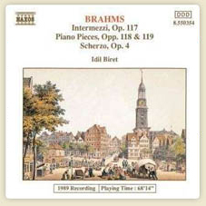 Brahms Intermezzi, Op.117/Piano Pieces, Opp. 118-119 3 Intermezzi, Op. 117 No.1 in E flat major:Andante moderato More...