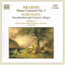 Brahms Piano Concerto No.1 Schumann Introduction and Concerto Allegro Brahms: Piano Concerto No.1 in D minor, Op.15 More...
