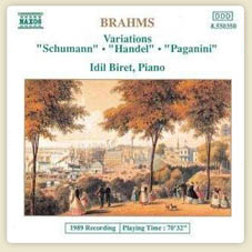 Brahms Variations Op. 9, 24 and 35 Variations on a Theme by Schumann, Op.9  Variations on a Theme by Schumann, Op.9 More...