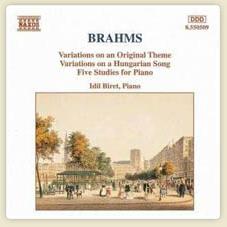 Brahms Variations, Op.21 /5 Piano Studies Variations on an Original Theme in D major, Op.21, No.1 Variations on an Original Theme in D major, Op.21, No.1  More...